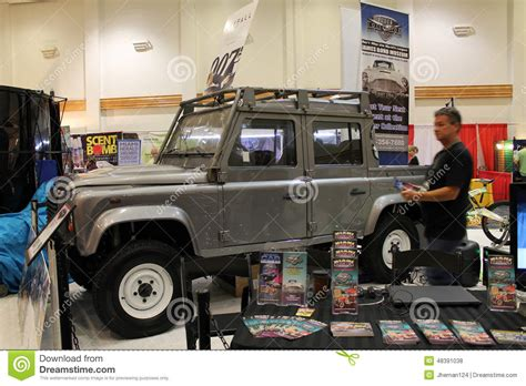 land rover truck james 007 movie car editorial stock photo image 48391038