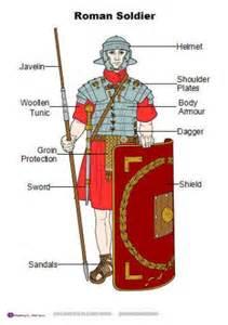 Ancient Roman Soldiers Worksheet