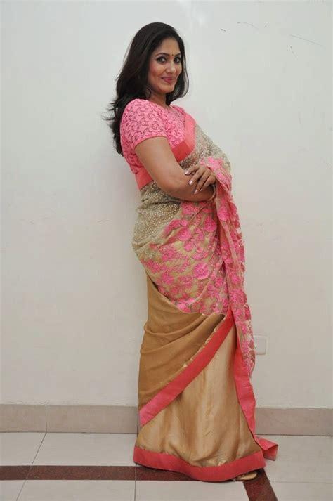 actress jhansi age indian tv actress jhansi hot photos in pink saree