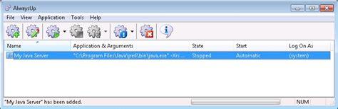 Jasa Setting Start Up Progran Otomatis how to run any java application as a windows service 8