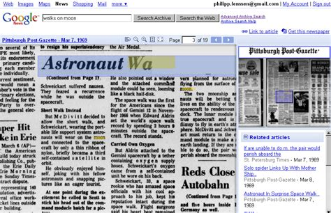 google images archive google shuts down newspaper archival scanning project
