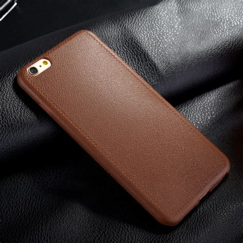 Ultrathin Iphone 6g Soft Ultra Thin ultra slim thin tpu leather soft cover for iphone 6s 6 plus 5 5 quot ebay