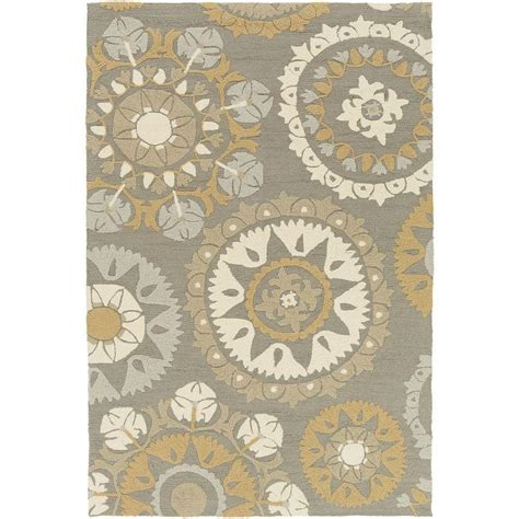 Artistic Weavers Wanniassa Gray 8 Ft X 10 Ft 6 In Weavers Outdoor Rugs