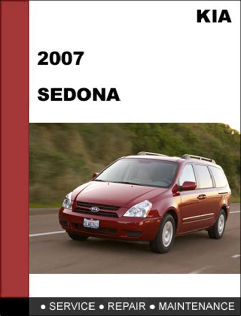 car repair manual download 2009 kia sedona electronic toll collection kia sedona 2007 factory service repair manual download download m