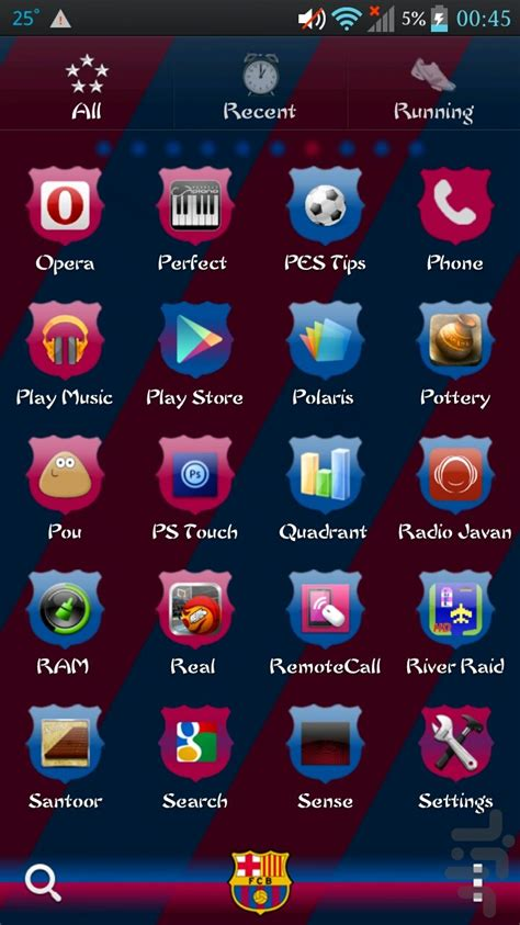 themes for android barcelona fc barcelona golauncher ex theme download install