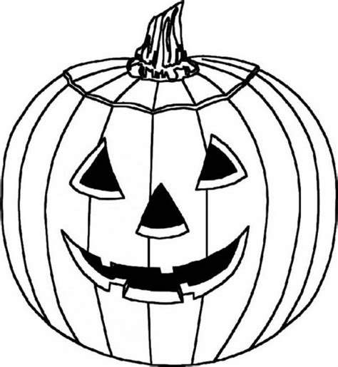 Cartoon Jack O Lanterns Coloring Home Free O Lantern Coloring Pages