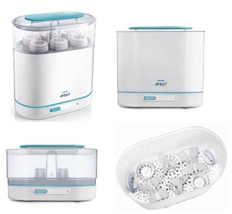 Philips Avent Electric Steam Sterilizer 2 In 1 Essential T1310 philips avent 3 in 1 electric steam sterilizer theshopville baby store babies