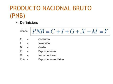 O Pnb definici 243 n de producto nacional bruto pnb
