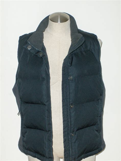 black quilted vest gap girls black quilted puffer jacket vest l outerwear
