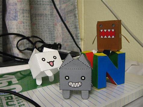 Domo Papercraft - domo kun po archives