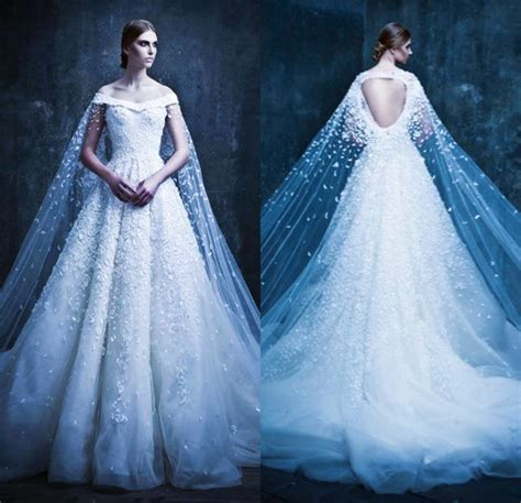 superhero fairy tale  statement making wedding gowns