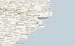 map of new bern carolina new bern location guide