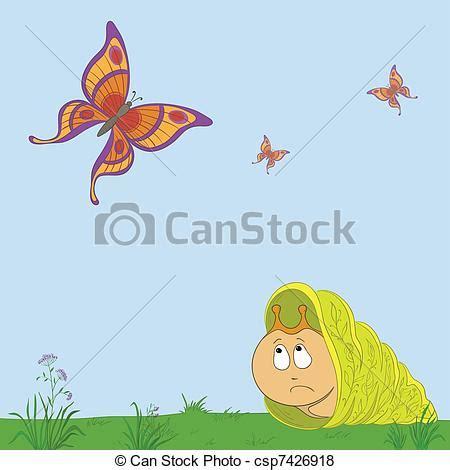 imagenes mariposas tristes stock de ilustraciones de mariposas caracol caricatura