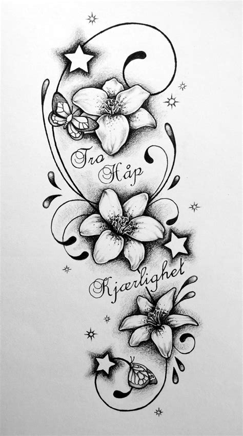 tegning av tatovering
