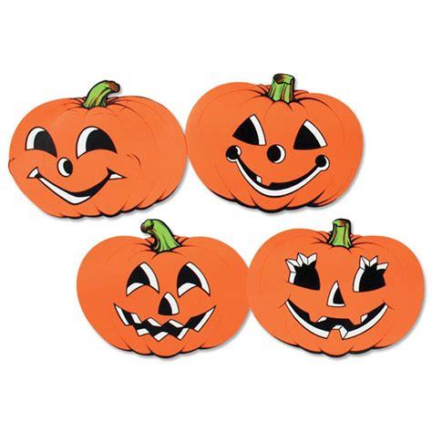 vintage pumpkin cutouts 4 pkg partycheap