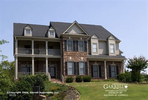 southern style house plans with porches garrell associates inc wynnthorpe house plan 99179