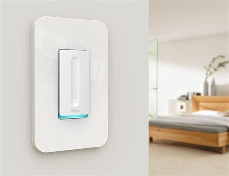 dimmable smart light switch wemo smart dimmer switch 187 gadget flow