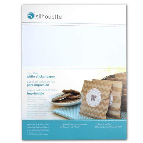 printable sticker paper uk silhouette printable sticker paper graphtec gb