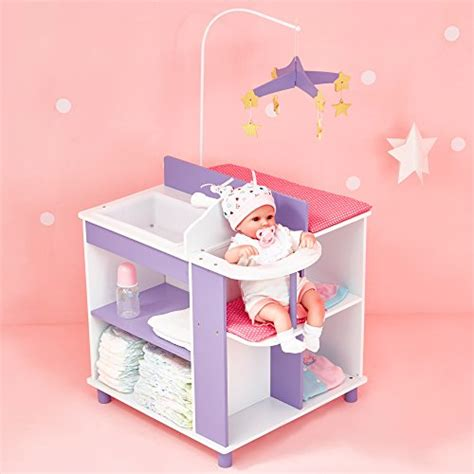 Baby Doll Changing Tables S World Princess Baby Doll Furniture Baby Changing Station With Storage White
