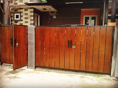 Gate Handle Pagar Listrik Accessories sell wood fence cibubur from indonesia by gallery parket cheap price