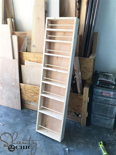 diy built in spice rack diy built in spice rack shanty 2 chic