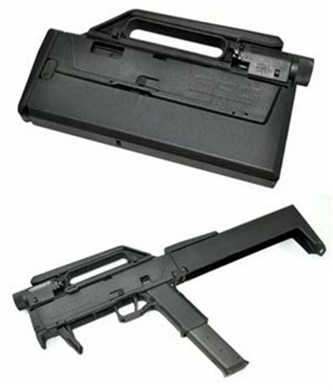 Folding Magpul Glock Fmg Toys Handgun Model fmg9 folding sub machine gun guns weapons