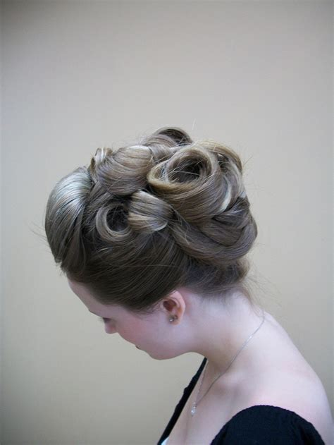 17 best ideas about pin curl updo on retro