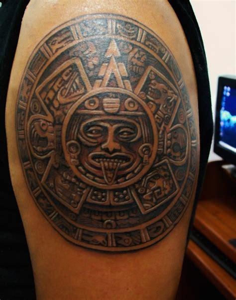 Calendario Azteca Tattoos Pictures 25 Best Aztec Tattoos Designs
