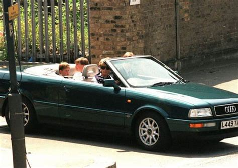Audi Old Cars by Princess Diana S Old Audi Convertible Set To Sell For 163