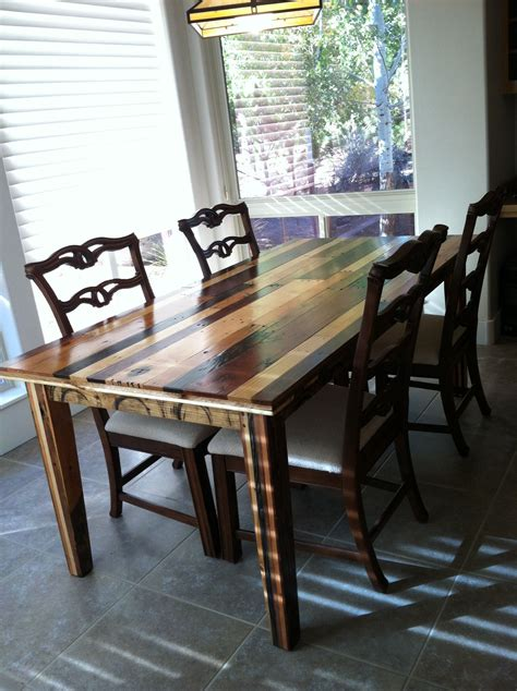 dining table made from pallets dining room table made from pallet wood created by gregg
