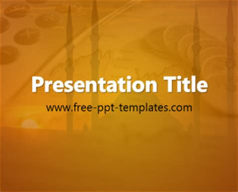 Islamic Finance Ppt Template Free Powerpoint Templates Free Islamic Powerpoint Templates