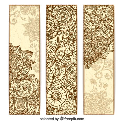 mandala templates for photoshop abstract mandala banners vector free download