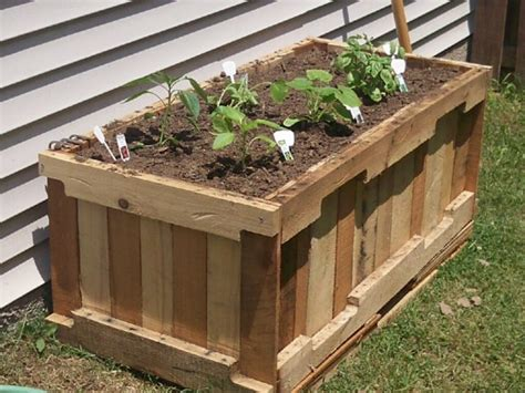 diy garden container 6 diy pallet furniture tutorials the green living guide