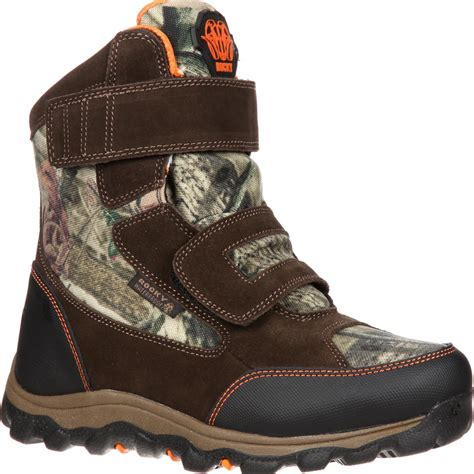 with boots rocky r a m waterproof insulated velcro outdoor boot
