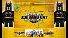Big Bang Theory Sweepstakes - digitaldoyle custom wordpress and web development rich media interactive content