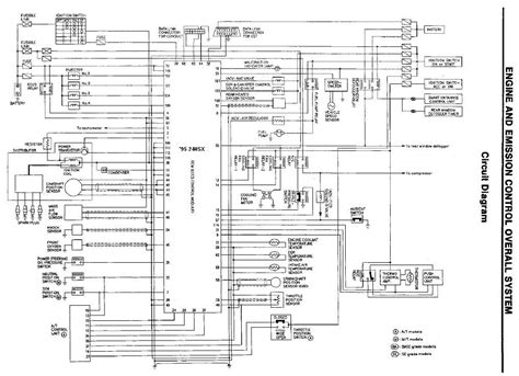 nissan qg15 ecu wiring diagram 30 wiring diagram images