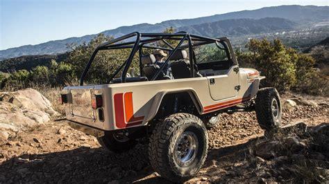 vintage jeep scrambler the six figure all aluminum jeep scrambler from legacy