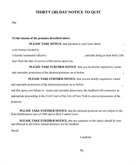 tenant eviction letter sle sle of notice to quit 28 images ford issues recall