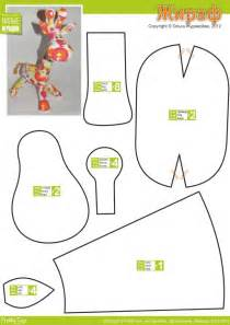 stuffed animal templates free жираф cutest funky giraffe stuffed animal pattern