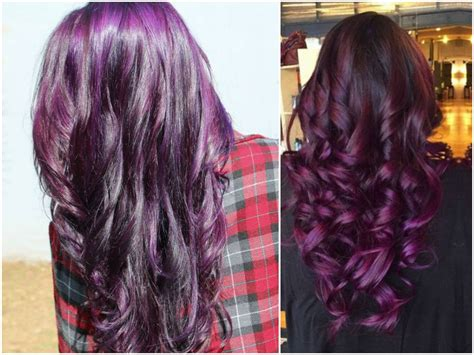 burgundy plum hair color 60 burgundy hair color ideas maroon purple plum