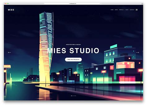 architectural design websites best wordpress themes for architects and architectural