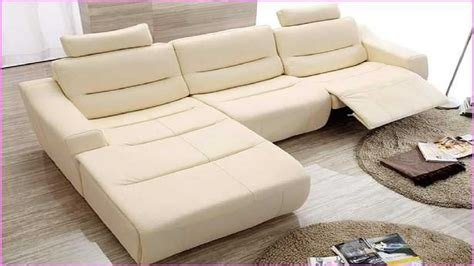 Small Sectional Couches With Recliners by Reclining Sectional Sofas For Small Spaces