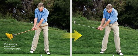 sweeping golf swing give your swing a tune up golf tips magazine