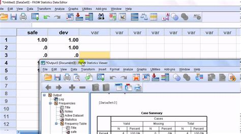 spss for newbies data entry for response questions quot tick boxes that apply quot