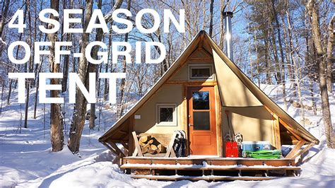 A House For The Season Grid Prospector Style Tent A Tiny House Alternative