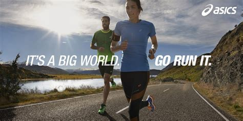 big running asics launches 2015 caign it s a big world go run it s running