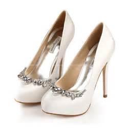 Wedding Shoes Brands 2015 Wedding Shoes Woman Rhinestone Ultra High Heels Luxury Silk Pump Women Bridal Shoes Brand