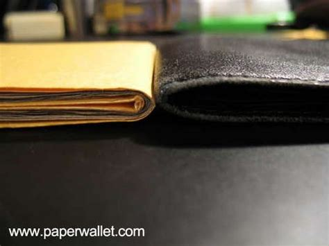 How To Make A Cool Paper Wallet - wallets and paper on