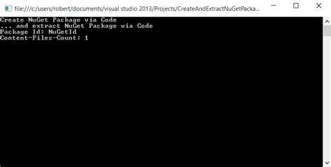 Kickers Nuget net 187 web create and read nuget packages via code