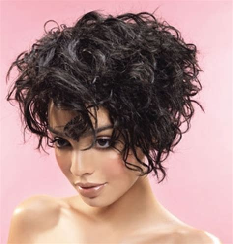 curly inverted bob haircut pictures hairstyles for short curly thick hair the best short